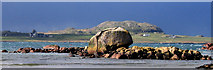 NM3023 : Granite Erratic at Fionnphort by Robert W Watt