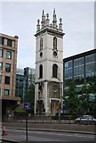 TQ3280 : Tower of Former Church of St Mary of Somerset by N Chadwick