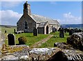 NY8989 : Norman church at Corsenside by Robert W Watt