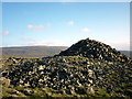 SD6480 : The big cairn on Brownthwaite Pike by Karl and Ali