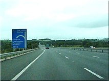 SD4964 : Junction 34 on the M6, northbound by Ann Cook