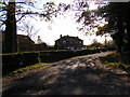 TM2176 : The entrance to The Depperhaugh Country House Nursing Home by Adrian Cable