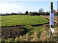 TM2177 : Footpath to the B1118 Chickering Road & Syleham Road by Adrian Cable
