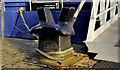 J3474 : Creighton mooring post, Belfast (1) by Albert Bridge