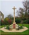 SP4510 : Cassington War Memorial (1), The Green, Cassington by P L Chadwick