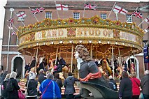 SU6200 : Merry Go Round - Portsmouth Historic Dockyard by Colin Babb