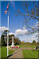 TQ2743 : Horley Memorial Gardens by Ian Capper