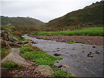 X2581 : Ballymacart River - looking upstream by ethics girl