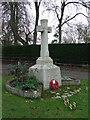 TL6453 : Carlton War Memorial by Keith Evans