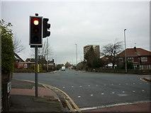 SE2334 : The junction of Swinnow Road with Swinnow Lane by Ian S