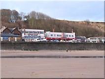TA1280 : Bay View Diner and Funland at Filey by Gordon Hatton