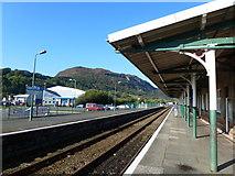 SH5639 : Porthmadog railway station by Ruth Sharville
