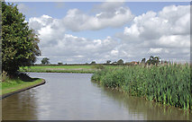 SJ6967 : Trent and Mersey Canal approaching Croxton Flash, Cheshire by Roger  Kidd