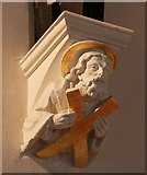 TQ2678 : St Mary, The Boltons, Brompton West - Corbel by John Salmon