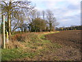 TM2674 : Footpath to Ufford Hall & Moat Farm by Adrian Cable