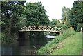 TQ0152 : Footbridge, Wey Navigation by N Chadwick