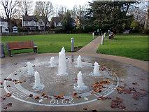 TQ3296 : Library Green, Enfield by Christine Matthews