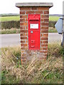 TM2280 : Upper Weybread Victorian Postbox by Adrian Cable