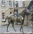 NT2573 : Earl Haig statue, Edinburgh Castle by kim traynor