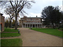 TQ4387 : View of Valentine's Mansion by Robert Lamb