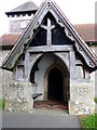SU6537 : Porch, St Andrew's Church by Maigheach-gheal