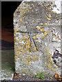 SU6537 : Bench Mark, St Andrew's Church by Maigheach-gheal