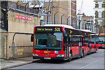 TQ3179 : Waterloo Bus Garage by Martin Addison