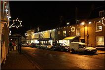 TM3389 : Bungay, Earsham Street at night by Glen Denny