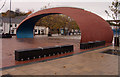 NZ2751 : The 'Civic Heart Arch', Chester-le-Street by Trevor Littlewood
