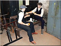 SU1484 : Lunchtime scenario, Steam Museum, Swindon by Brian Robert Marshall