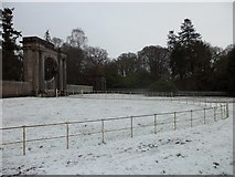 NS3586 : Gates to Rossdhu House by Stephen Sweeney