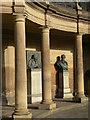 SK5639 : Sculpture colonnade, Nottingham Castle by Alan Murray-Rust