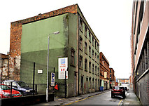 J3374 : Vacant building, Belfast (2) by Albert Bridge