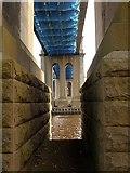 NZ2463 : Under the King Edward VII Bridge by Andrew Curtis