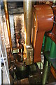 SK5806 : Abbey Pumping station - beam engine detail by Chris Allen