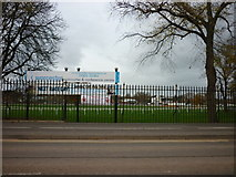 SO8455 : Worcester Racecourse by Ian S