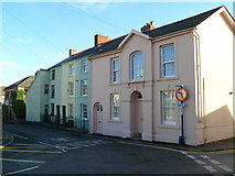 SO2914 : Lower Castle Street houses, Abergavenny by Jaggery