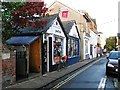 SP5107 : Shops, North Parade by Rose and Trev Clough