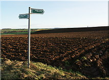"NT5776 : ""East Linton/Pencraig Hill"" Right of Way Sign by Texas Radio and The Big Beat"