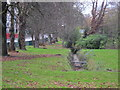 SP0485 : Chad Brook, Harborne Road by Roy Hughes