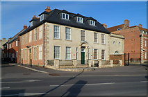 ST8558 : Grade II listed Conigre Parsonage, Trowbridge by Jaggery