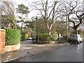 SJ9370 : Rossendale Hall entrance, Hollins Lane by Peter Turner