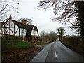 SJ4848 : Beeches Villas on Tilston Road by Ian S