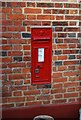 TQ8076 : Victorian Postbox, St Mary Hoo by N Chadwick