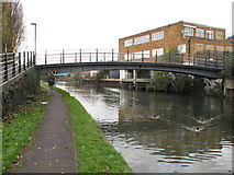 TQ1883 : Bridge 11B, Paddington Branch, Grand Union Canal - Grand Union Walk by David Hawgood
