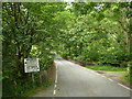 SN7774 : Pre-Worboys road sign on the road between Cwmystwyth and Pont-Rhyd-y-groes by Phil Champion