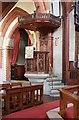 TQ3168 : St Stephen, Warwick Road, Thornton Heath - Pulpit by John Salmon