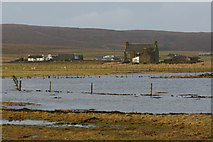 HP6308 : High tide at Ordale, Baltasound by Mike Pennington