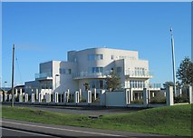 NZ2027 : Art Deco style modern house, West Auckland Road, Bishop Auckland by Alan Cooper