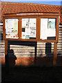 TM2479 : Weybread Village Notice Board by Adrian Cable
